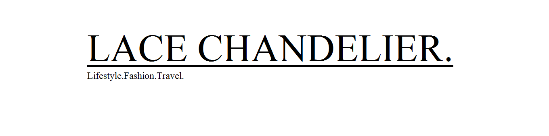 Lace Chandelier