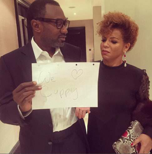 Femi Otedola and wife show their daughter DJ Cuppy some love