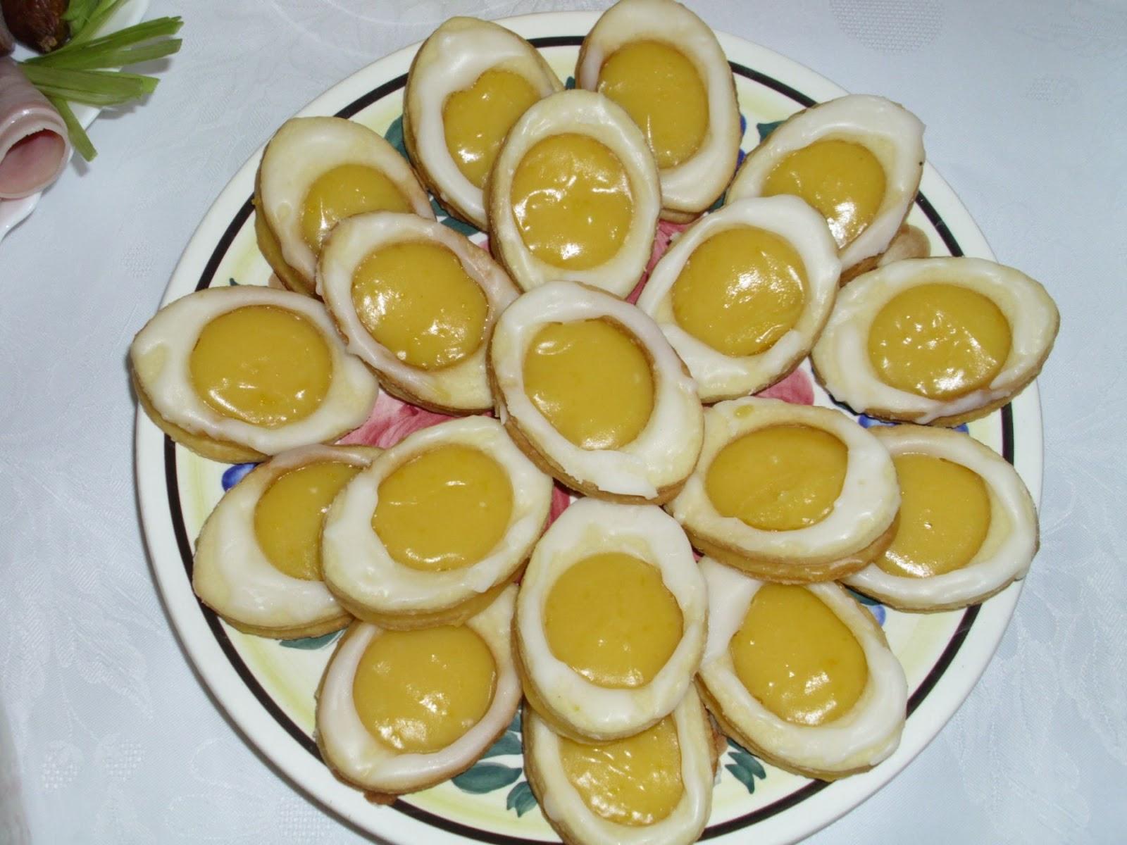Moja Kuchnia Pachnaca Barszczem Wielkanocne Ciasteczka Jak Jajeczka