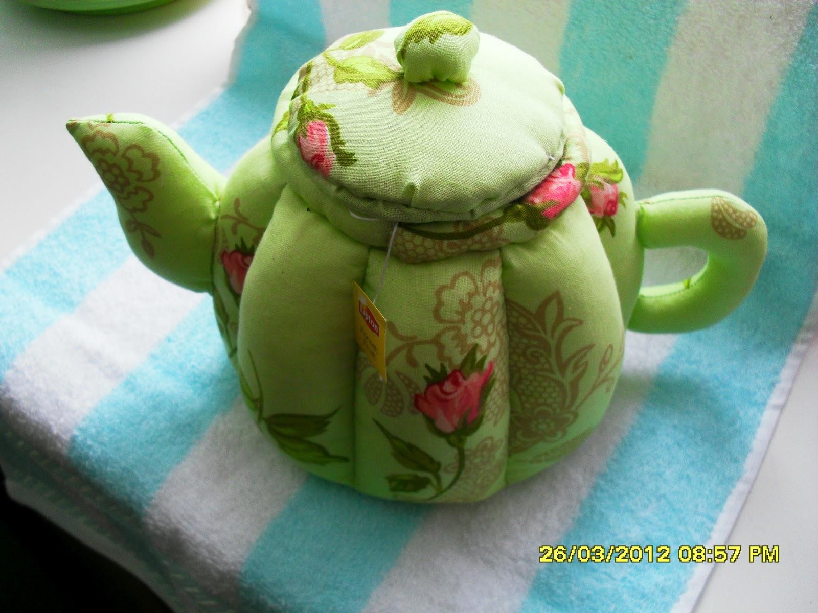 Как сшить грелку для чайника в стиле тильда 99