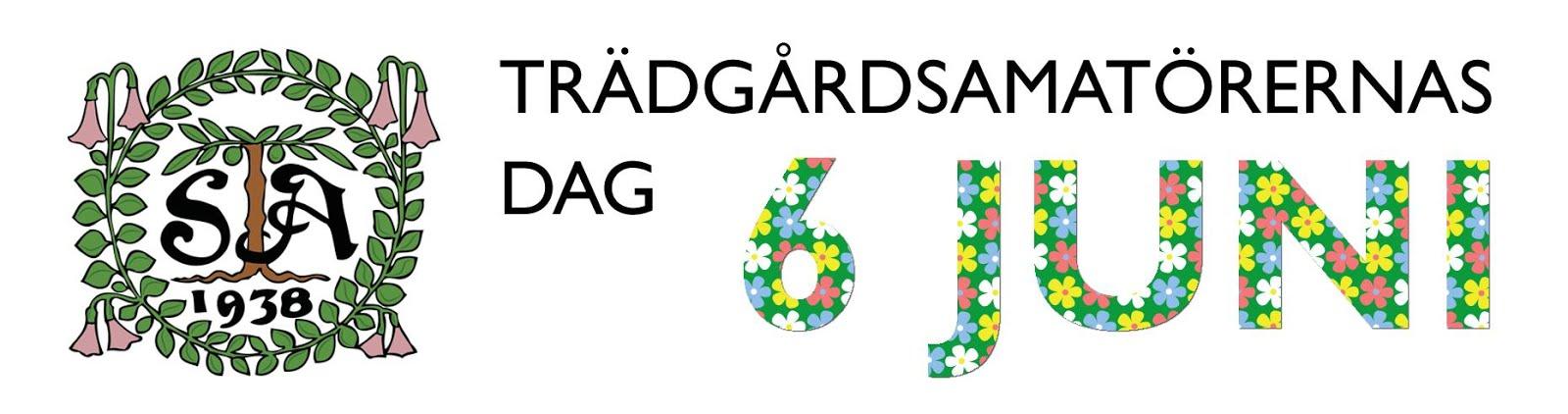Trädgårdsamatörernas dag 6 juni 2016