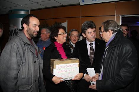 Jean-Luc MELENCHON et Alain HAYOT à la rencontre des citoyen-ne-s
