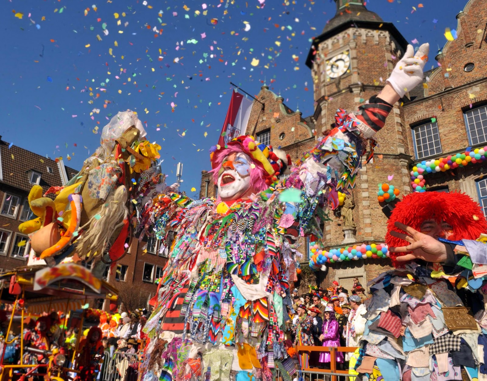 The Carnival in Cologne 2015, Germany