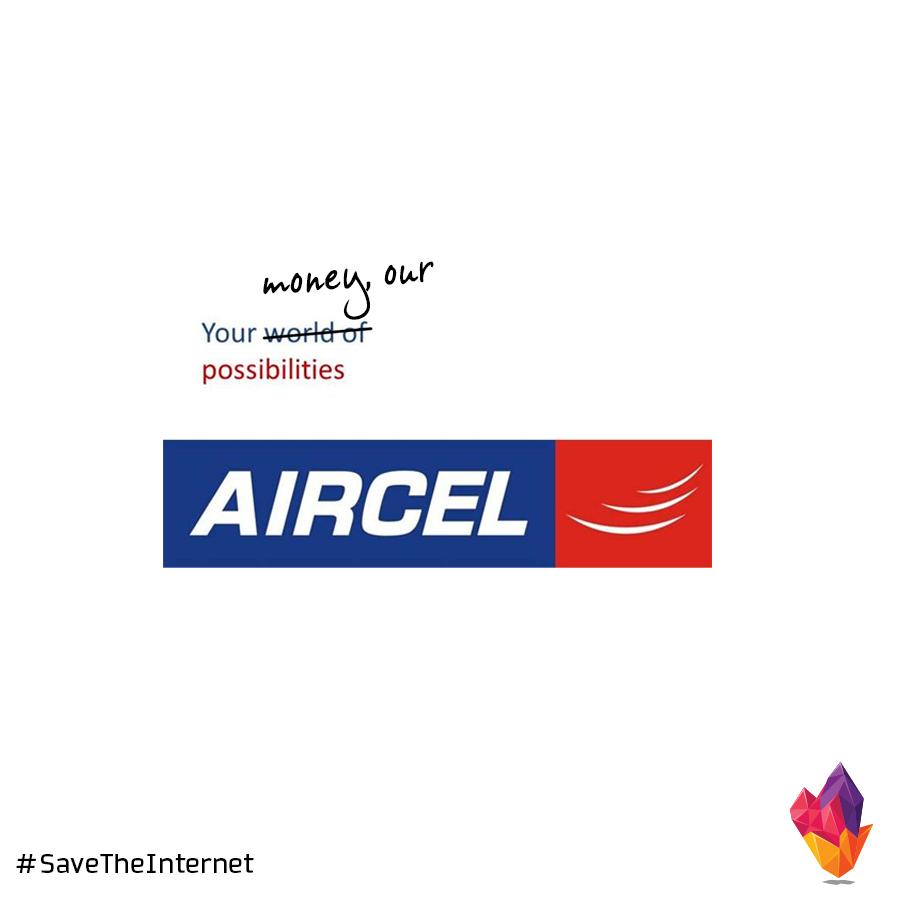 Aircel net neutrality