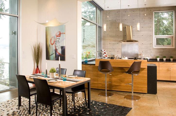 decoracao de sala e cozinha juntas simples:We like: COZINHAS INTEGRADAS