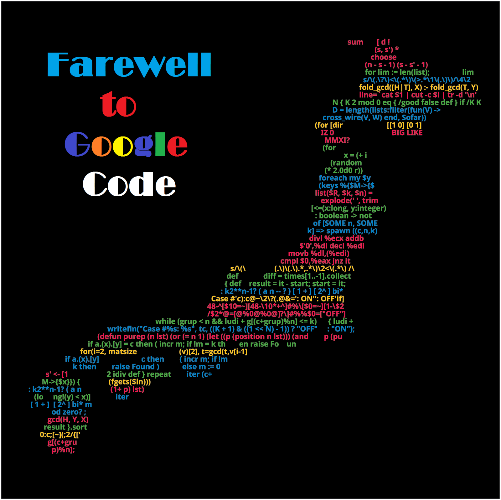 Google Code is Shutting Down