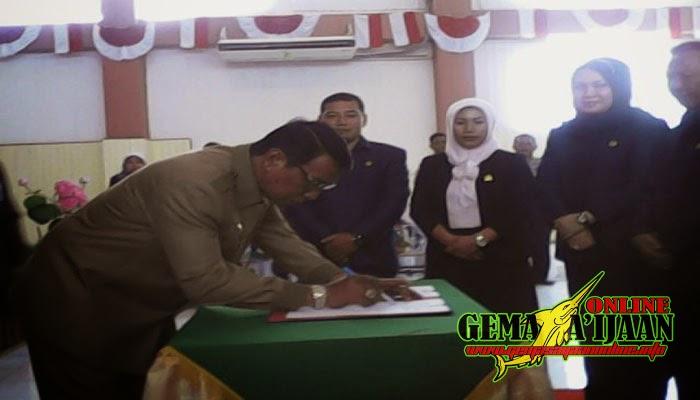 DPRD Kotabaru Bahas Empat Raperda