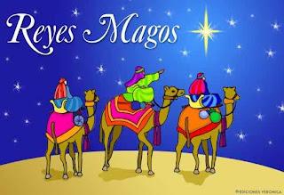 Decora tu Blog con los tres Reyes Magos