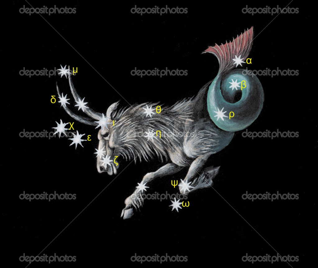 Capricorn Star Constellation Tattoo Capricornus