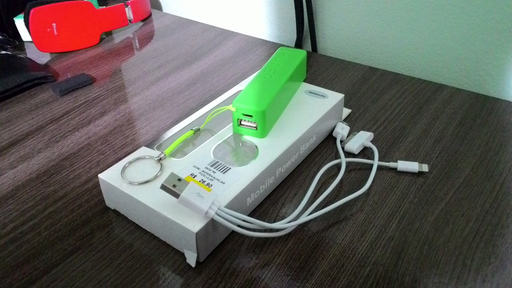 carregador portatil power bank