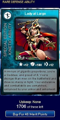 Lady at Large from Superhero City