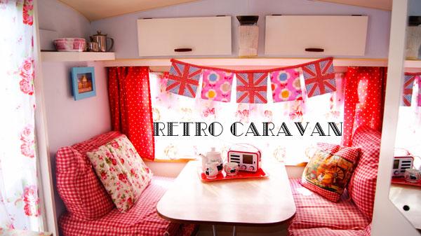The Syders: Bertha The Retro Caravan