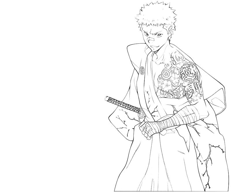 printable-ryohei-sasagawa-handsome-coloring-pages