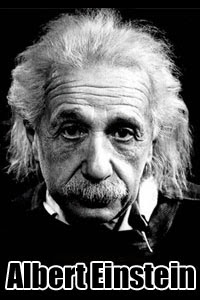 albert einstein short biography words