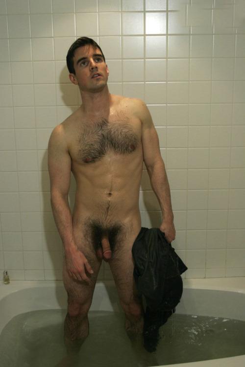 Damn Drop That Towel And Show Off Bushy Cock