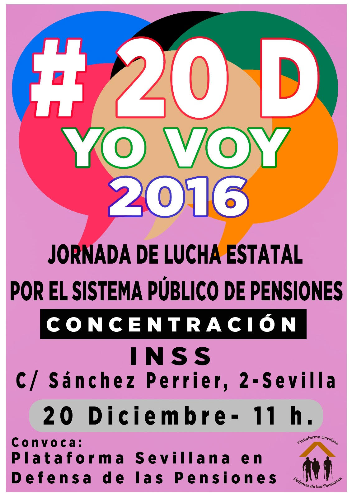 JORNADA DE LUCHA ESTATAL POR EL SISTEMA PÚBLICO DE PENSIONES