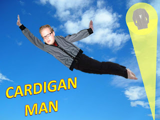 Cardigan Man!