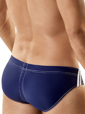 WildmanT Sport Brief with Ball Lifter Cock Ring Swimwear Back Gayrado