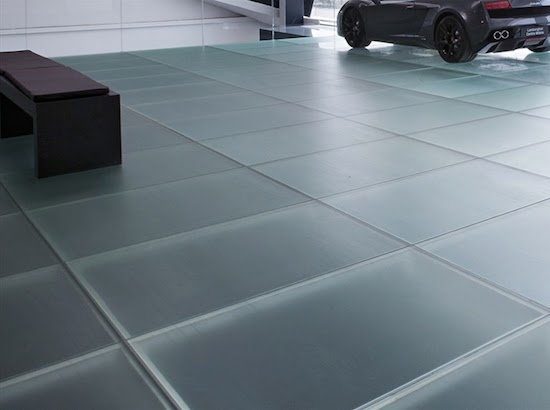 Italian Glass Flooring Collection From Vitrealspecchi Madras - Colored-and-clear-glass-tiles-by-vetrocolor