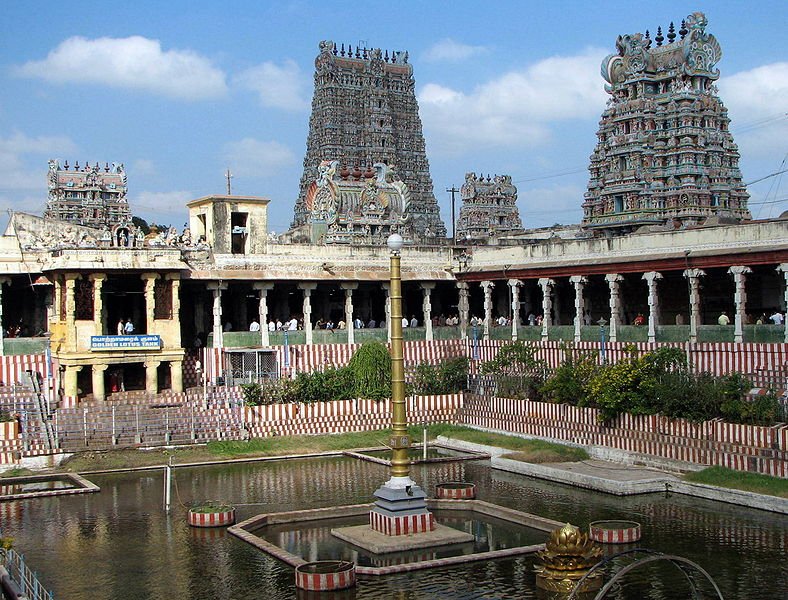 madurai meenakshi amman temple Private sightseeing tours in madurai: check out 1 reviews and photos of viator's  private tour: full-day madurai tour including meenakshi amman temple and.