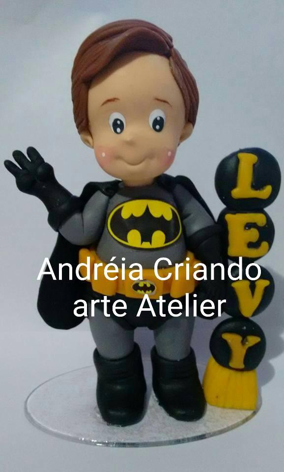 TOPO DE BOLO TEMA BATMAN