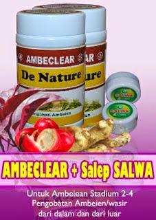 Amblecear + Salep Salwa