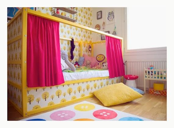 Mar vi blog ikea hacks ideas para personalizar la cama kura - Ikea camas para ninos ...