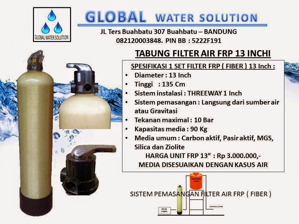 HARGA TABUNG FILTER AIR FRP 13