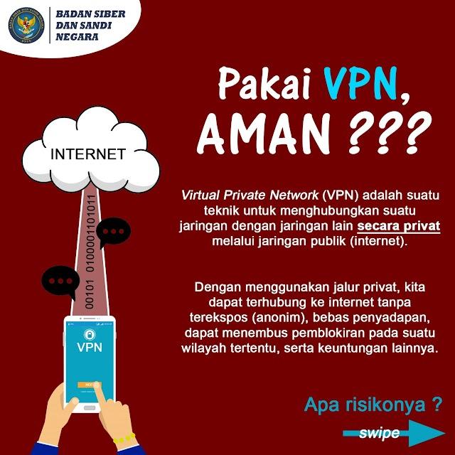 Pakai VPN publik pasti tidak aman