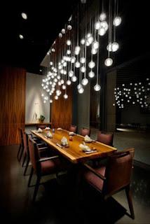 Light Interior Design for Restaurant