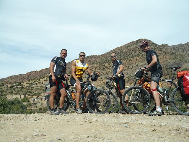 Bomberos de Béjar conla bici de Montaña