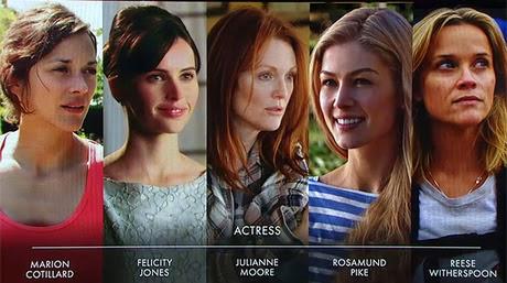 лучшая женская роль Оскар 2015