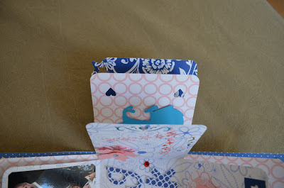 scrapbooking explosion box by c.araus