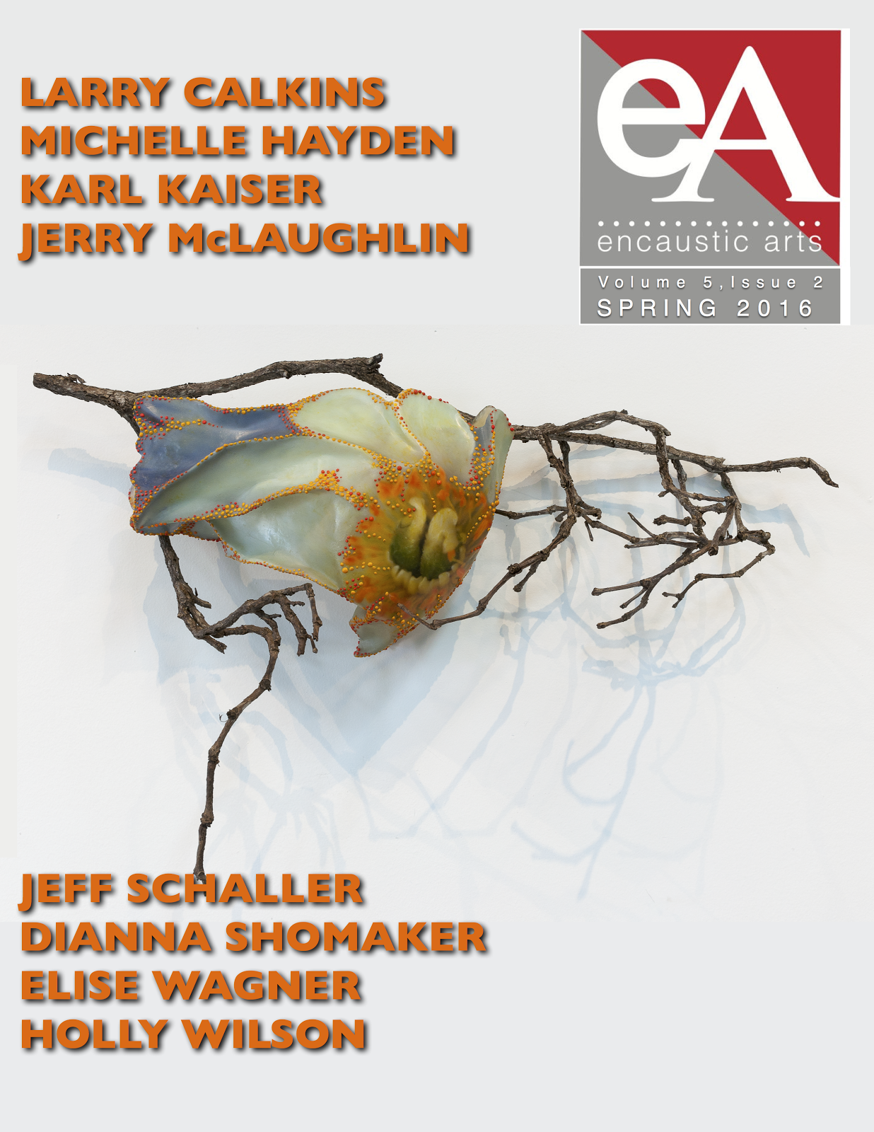 Encaustic Arts Online Magazine Cover