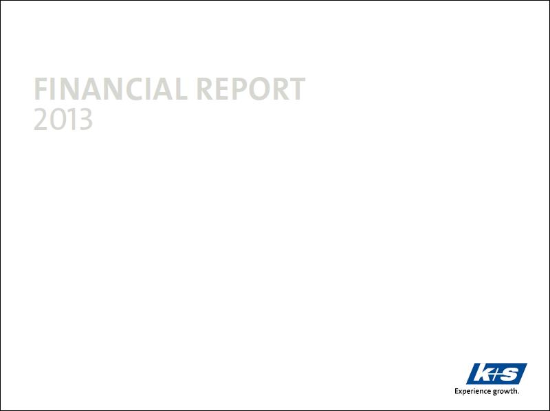 K+S, annual, report, 2013