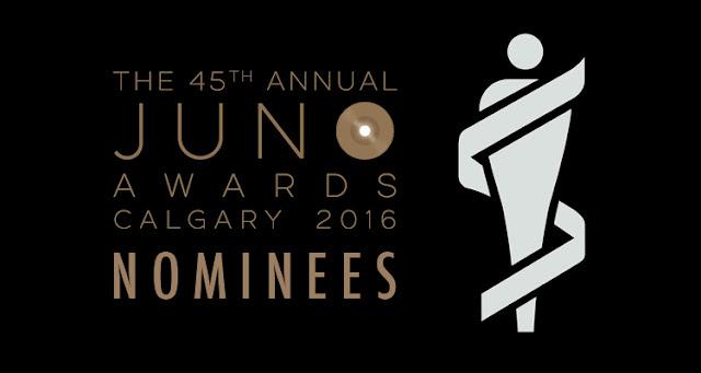 Lista de nominados a los Juno Awards 2016