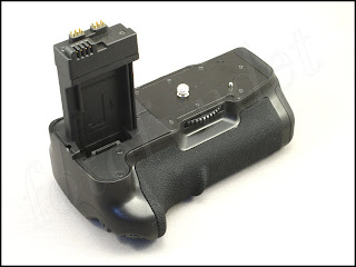 Batterigrepp motsv. Canon BG-E8 för Canon EOS 550D