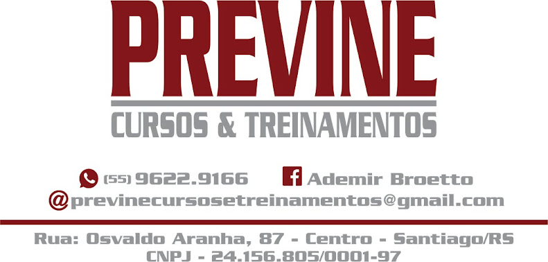 Previne Cursos e Treinamentos