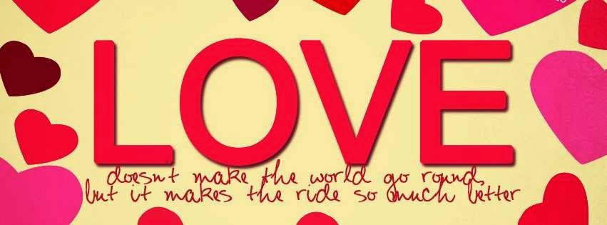 Love Quotes Facebook Covers Images