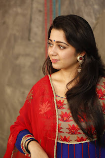 Actress Charmi Kaur Pictures in Salwar Kameez at Jyothi Lakshmi Movie Interview (22)