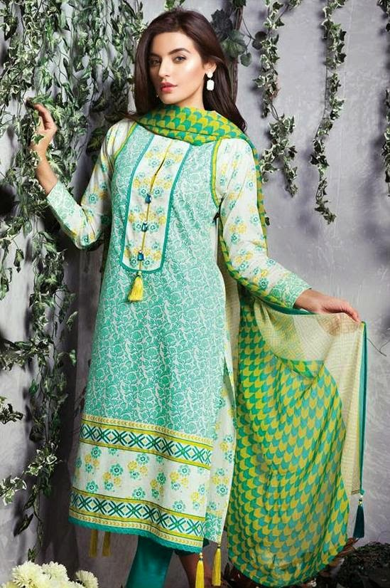 Satrangi best summer dresses collection