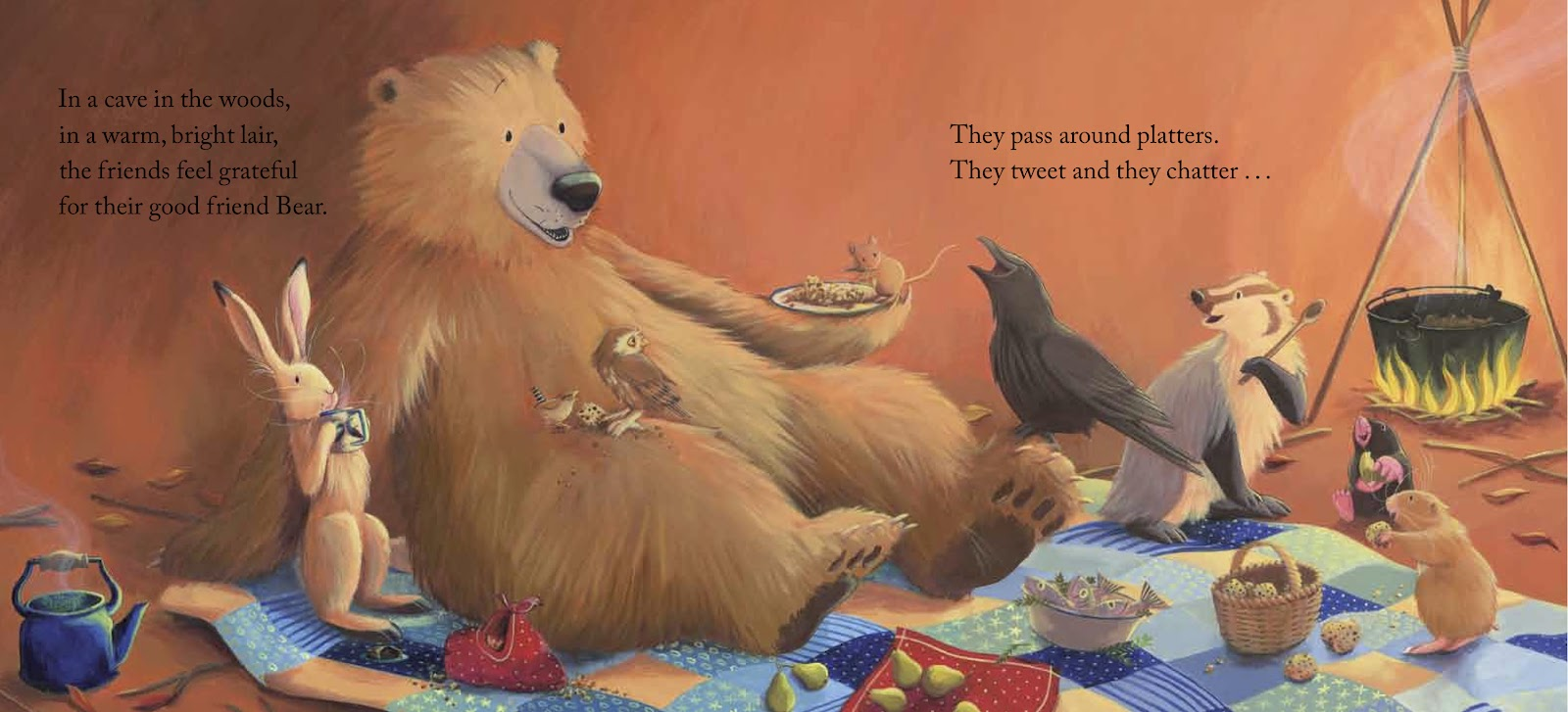 Image result for bear says thanks