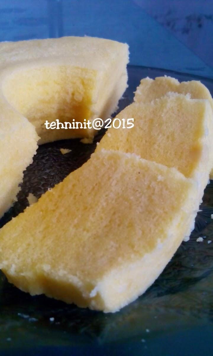cake kukus tepung beras tanpa bahan kimia