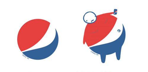 20 Logo Plesetan dari Perusahaan-Perusahaan Terkenal di Dunia: Pepsi