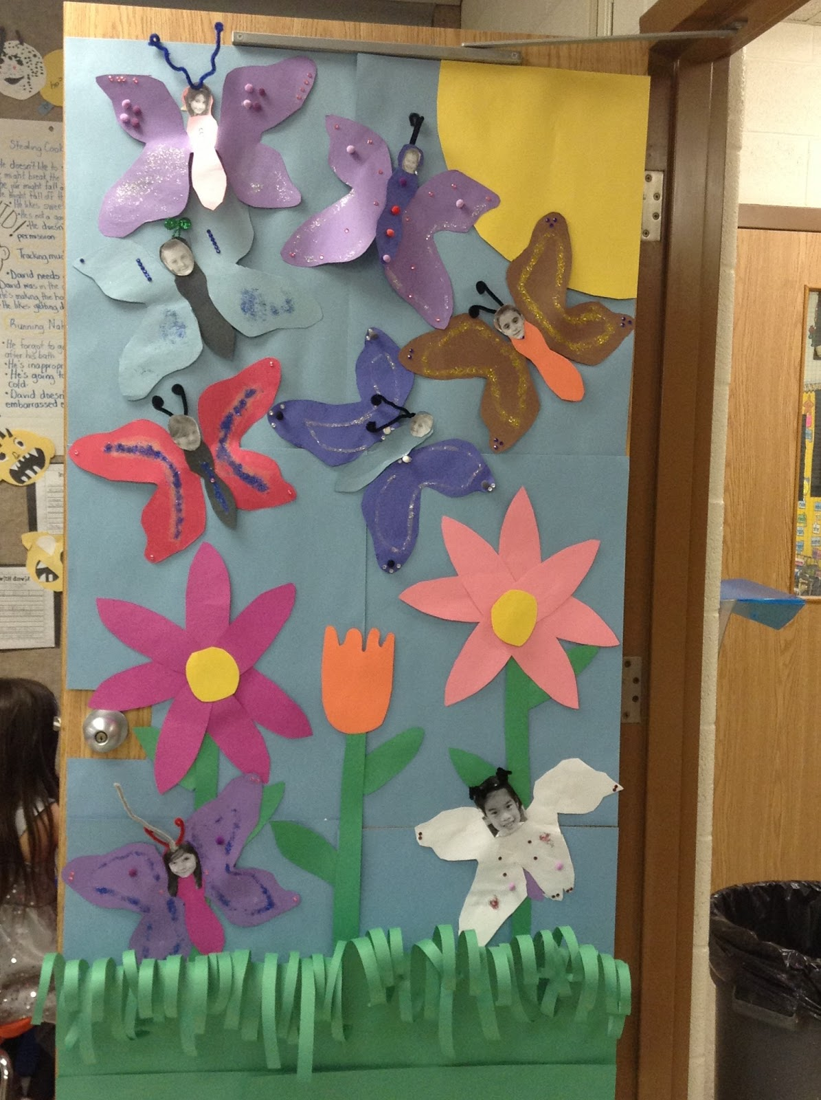 Butterfly Classroom Decoration ~ Obsessed with butterflies even the boys create dream