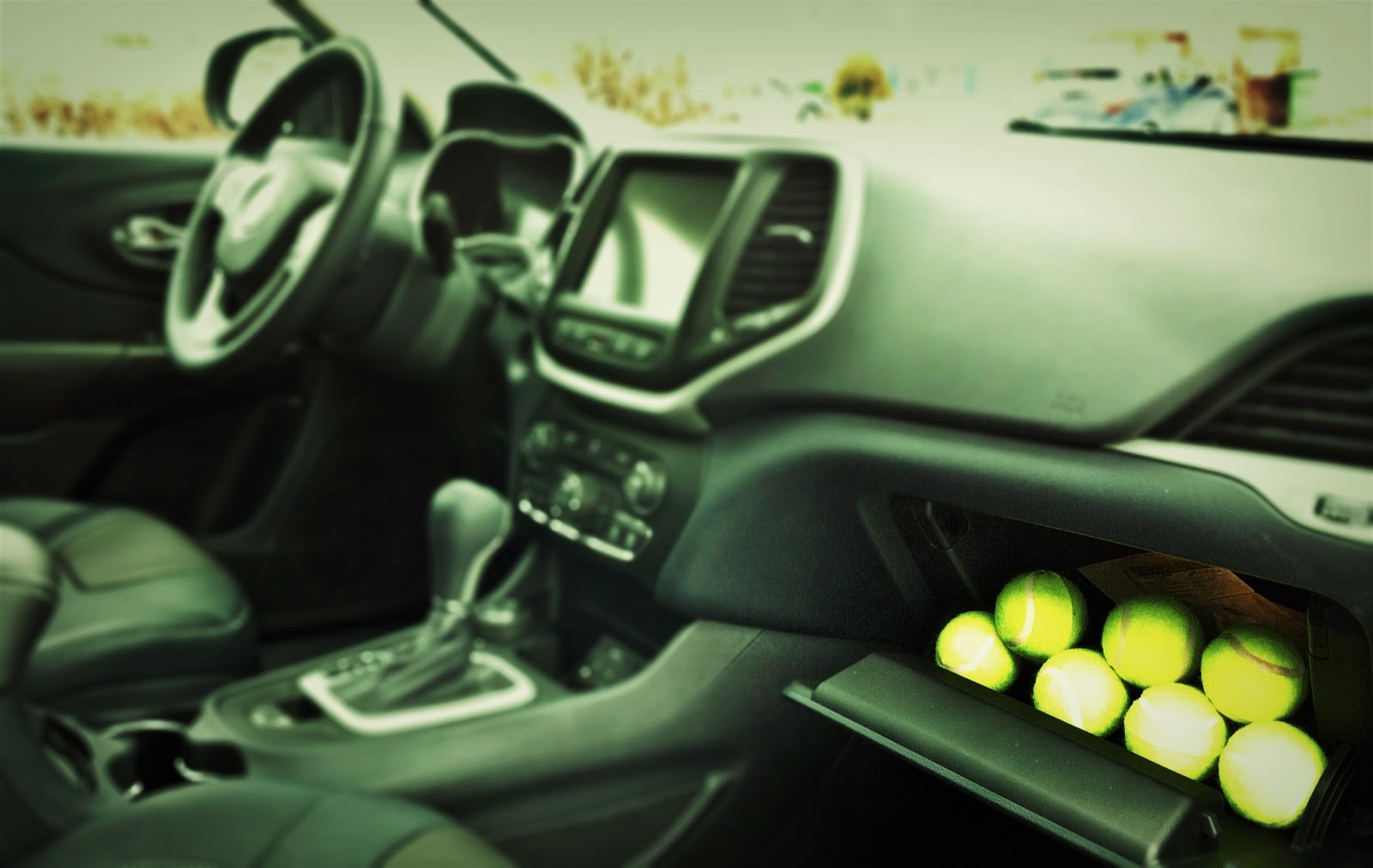 2014 Jeep Cherokee Limited interior