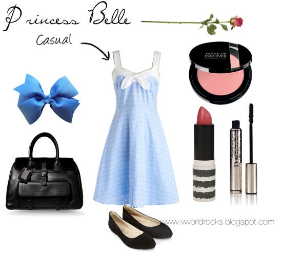 V World Rocks: Modern Disney Princess: Belle