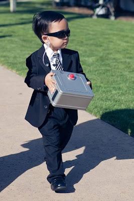 Dica de Pajem para casamento: Agente secreto!