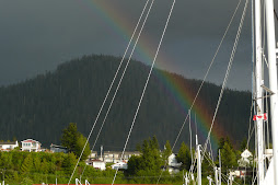 rainbow over prince rupert