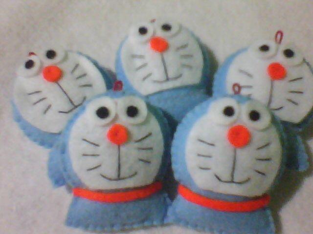 Boneka Shinta: Boneka Doraemon dari Flanel